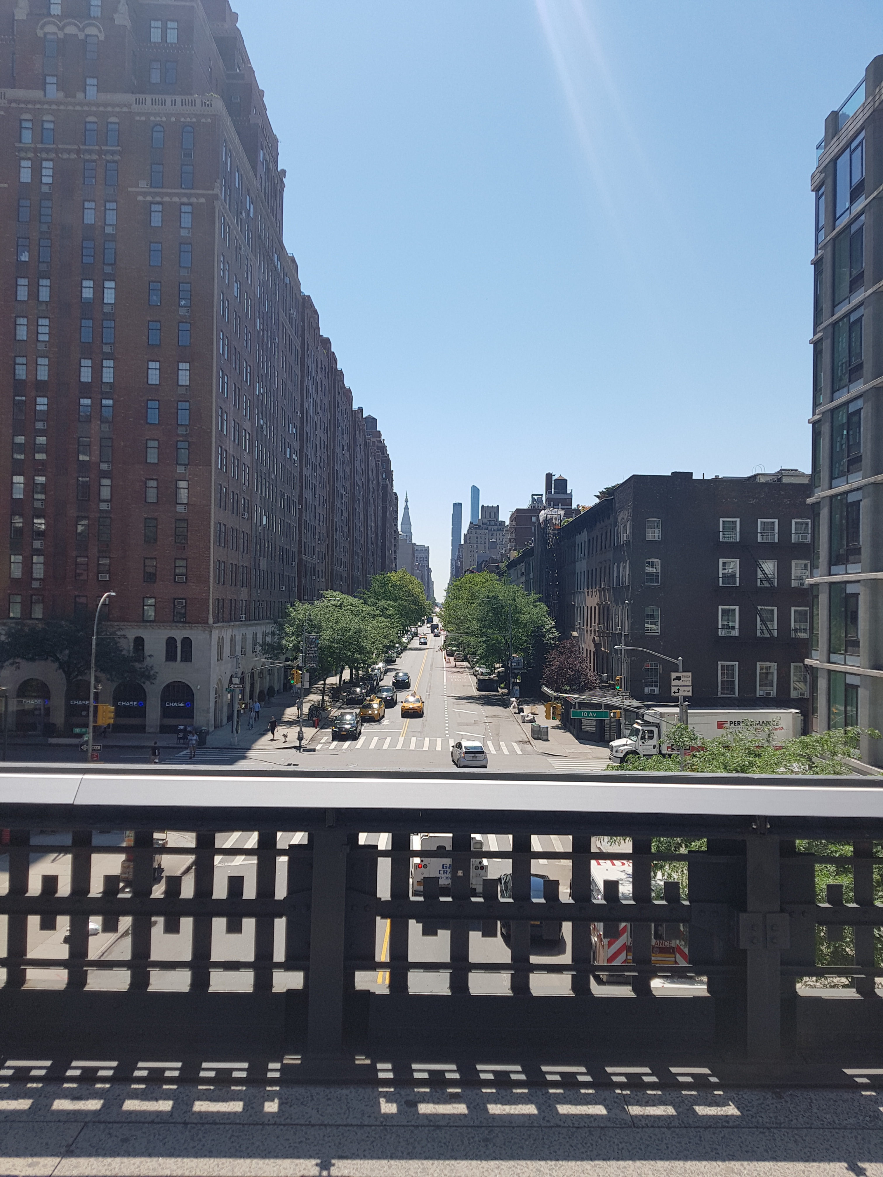 views of Manhattan from the High Line